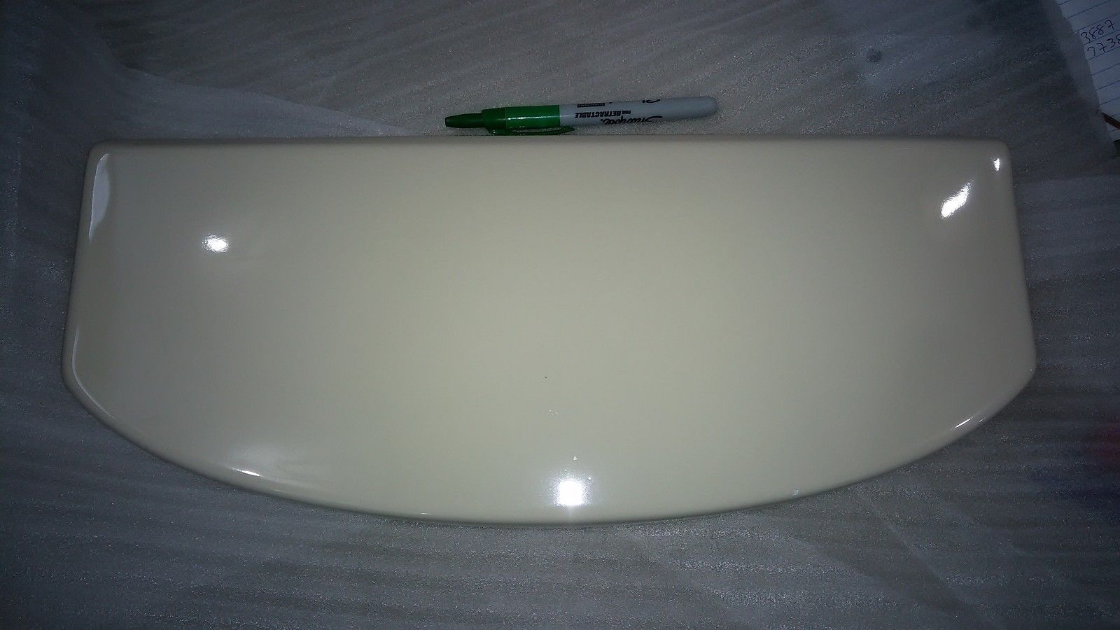 6 Dd18 Kohler 8505 Toilet Tank Lid, Almond / and 50 similar items