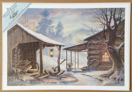 Lee Roberson Limited Edition Signed Print - Toward Evening 1990 - Smoky Mtn - $174.99