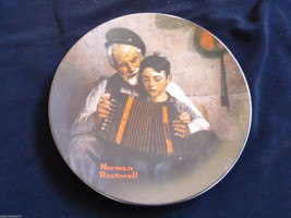NORMAN ROCKWELL LIMITED EDITION MUSIC MAKER KNOWLES COLLECTOR PORCELAIN ... - $17.82