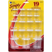 Simply Art Storage Cups 19 Pkg Assorted Sizes - $7.83
