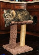 SISAL ROPE SCRATCH POST - FREE SHIPPING IN THE UNITED STATES ONLY - £43.78 GBP