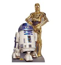 R2 D2 R2 D2 C3 Po Star Wars Lifesize Cardboard Standup Standee Cutout Licensed 530 - $39.95