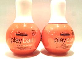 L'Oreal Professionnel Play Ball Soda Sparkler Spray (Gold Dust) 150ml x2*  - $29.93