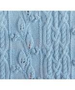original design hand knitted leaves, berries, c... - $55.00