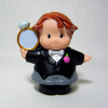 Fisher Price Little People GROOM from Wedding Celebration Set - $4.50