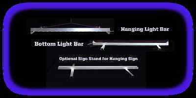 "7.375"" x 5"" Personalized Custom LED Sign - Design your own sign"