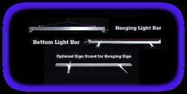 """7.375"""" x 5"""" Personalized Custom LED Sign - Design your own sign image 4"""