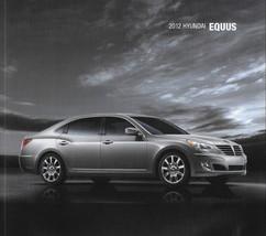 2012 Hyundai EQUUS sales brochure catalog US 12 Signature Ultimate 5.0 - $10.00