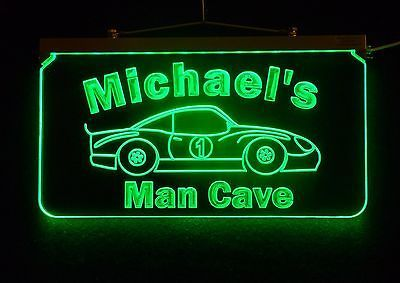 Primary image for Personalized ED Man Cave Garage Sign, Handmade with your design, Multi-Color