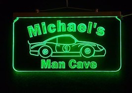 Personalized ED Man Cave Garage Sign, Handmade with your design, Multi-C... - $140.00