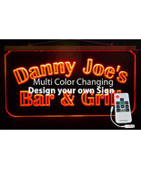 Personalized Bar Sign, Man Cave, Business Sign, Garage Sign, Handmade -Gift - $90.00