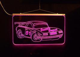 Personalized LED Sign, Garage Sign, Race Car Sign, Man Cave Sign, Custom LED image 5