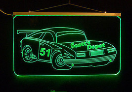 Personalized LED Sign, Garage Sign, Race Car Sign, Man Cave Sign, Custom LED image 2