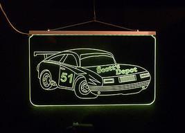 Personalized LED Sign, Garage Sign, Race Car Sign, Man Cave Sign, Custom LED image 4