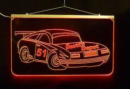 Personalized LED Sign, Garage Sign, Race Car Sign, Man Cave Sign, Custom LED image 6