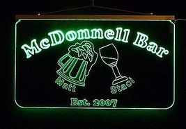 Personalized LED Sign, Bar Sign, Pub Sign, Wedding Sign, Personalized Gift image 3