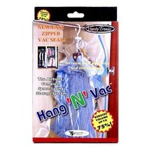 Hang 'N' Vac Vacuum Hanging Storage Bag by Handy Trends - $1.74