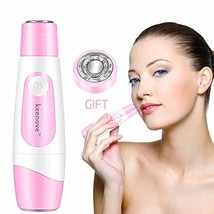 Kenove Painless Facial Hair Removal For Women with 1 Gift Replacement Head Gentl