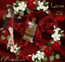 No 104 Attraction love oil, magic oil, pagan, Wiccan, healthy relationships - $24.99