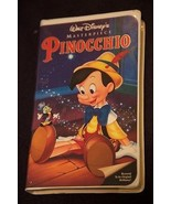 Pinocchio (VHS, 1993) - Restored, Masterpiece edition - $15.00