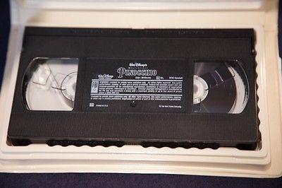 Pinocchio (VHS, 1993) - Restored, Masterpiece edition