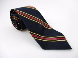 Men's New GEOFFREY BEENE 100% Silk Tie Blue Red Yellow NWOT Necktie Ties... - $18.55