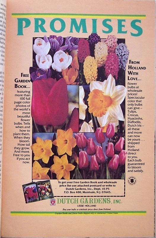 Organic Gardening Magazine, May 1982 Rediscover Beans