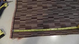 Brown Tan Abstract Print Upholstery Fabric  1 Yard  R - $24.95