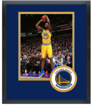 Harrison Barnes 2016 Golden State Warriors-11x14 Team Logo Matted/Framed Photo - $42.95