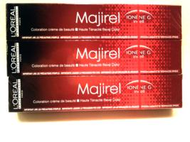 L'Oreal Professionnel Majirel IONENE G 6.6 Dark Blonde Red  50ml/ 1.7 oz. x3* - $38.15