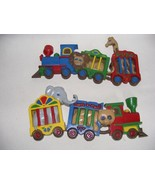 Circus Train Engine Boys Room Wall Hanging Made in USA - $19.95