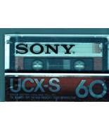 Sony Audio Tape - UCX-S 60 Blank Audio Tape - $1.95