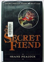 The Boy Sherlock Holmes His 4th Case THE SECRET FIEND 1st Print hcdj Pea... - $8.00