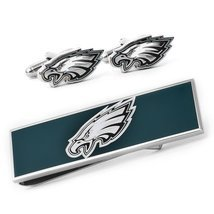 Philadelphia Eagles Cufflinks And Money Clip Gift Set by Cufflinks Inc - $1.919,42 MXN