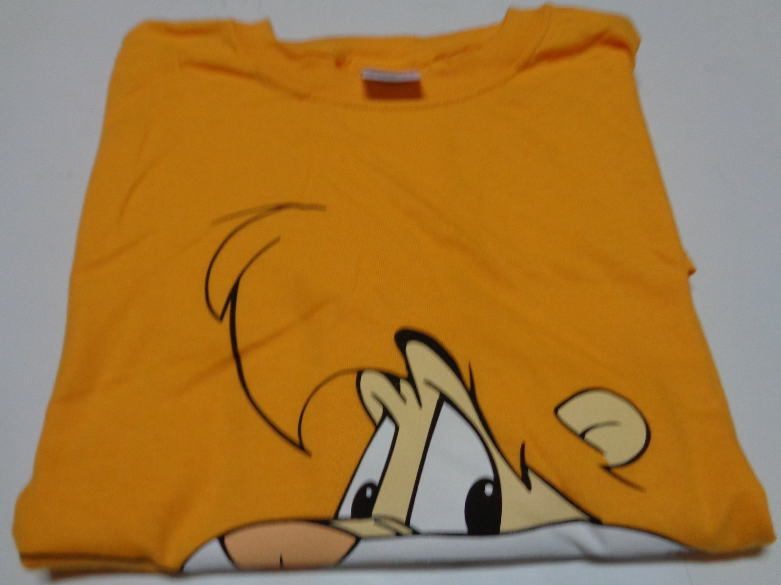 DARE T-Shirt Sz XL Yellow NWOT Gildan Heavy Cotton