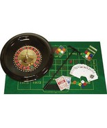 "16"" Inch Roulette Set with Wheel Chips Balls Ra... - $49.99"