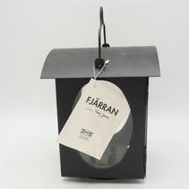 Fjärran Ikea Franz James Black Metal Candle Holder Hanging Lantern - $24.74