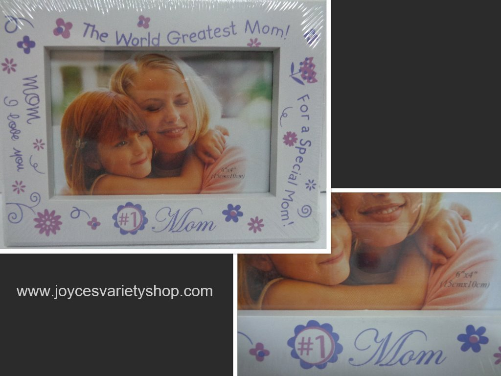 1 mom photo frame collage