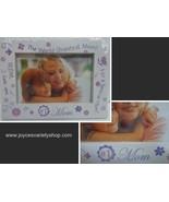 "#1 MOM Photo Frame NIB White 6"" x 4"" Photo Picture - $10.99"