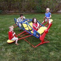 Kids 7 Person Teeter Totter Play Ace Flyer Backyard See Saw Playground E... - $732.28