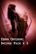 Djinn Offering Incense Pack Black Voodoo Magick Spell Say Thanks Genie Deity God - $26.00