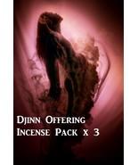 DJINN OFFERING INCENSE PACK BLACK VOODOO MAGICK... - $26.00