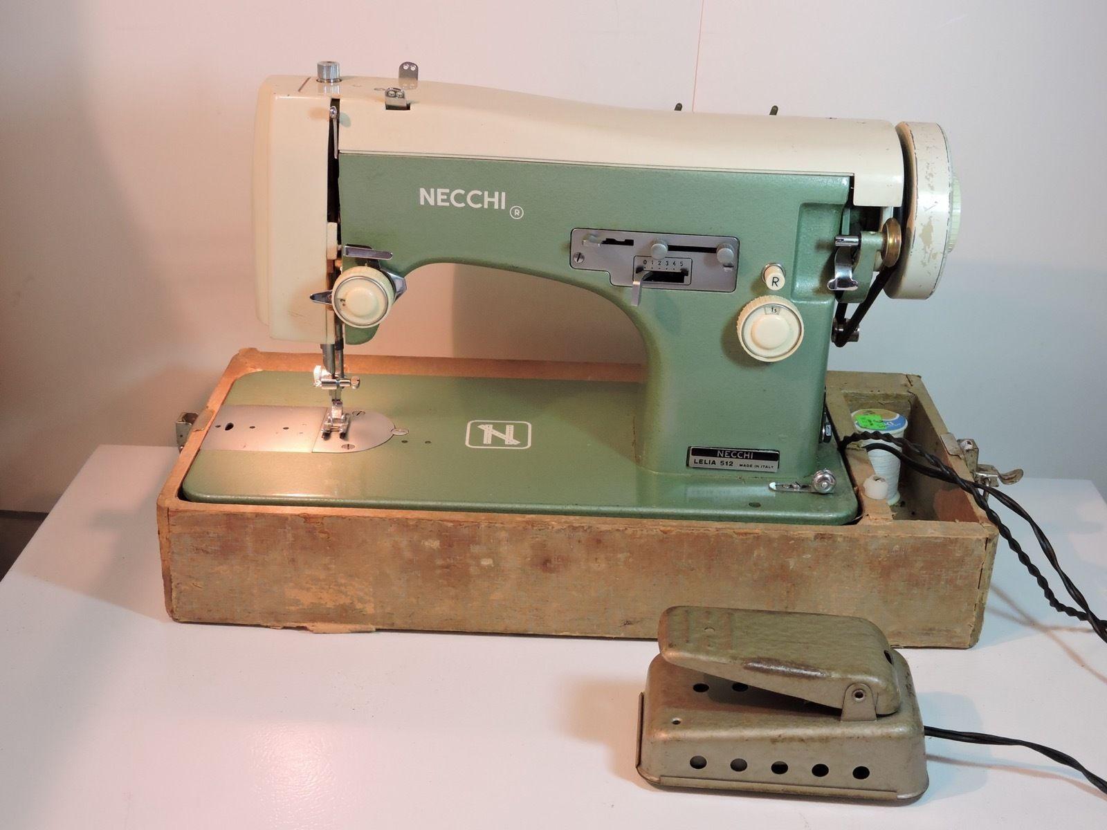 S l1600. S l1600. Vintage Necchi Lelia 512 Sewing Machine ... & Vintage Necchi Lelia 512 Sewing Machine - and 50 similar items