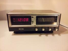 Zenith Circle of Sound H472W Alarm Clock Radio Space Age Omnidirectional... - $44.50