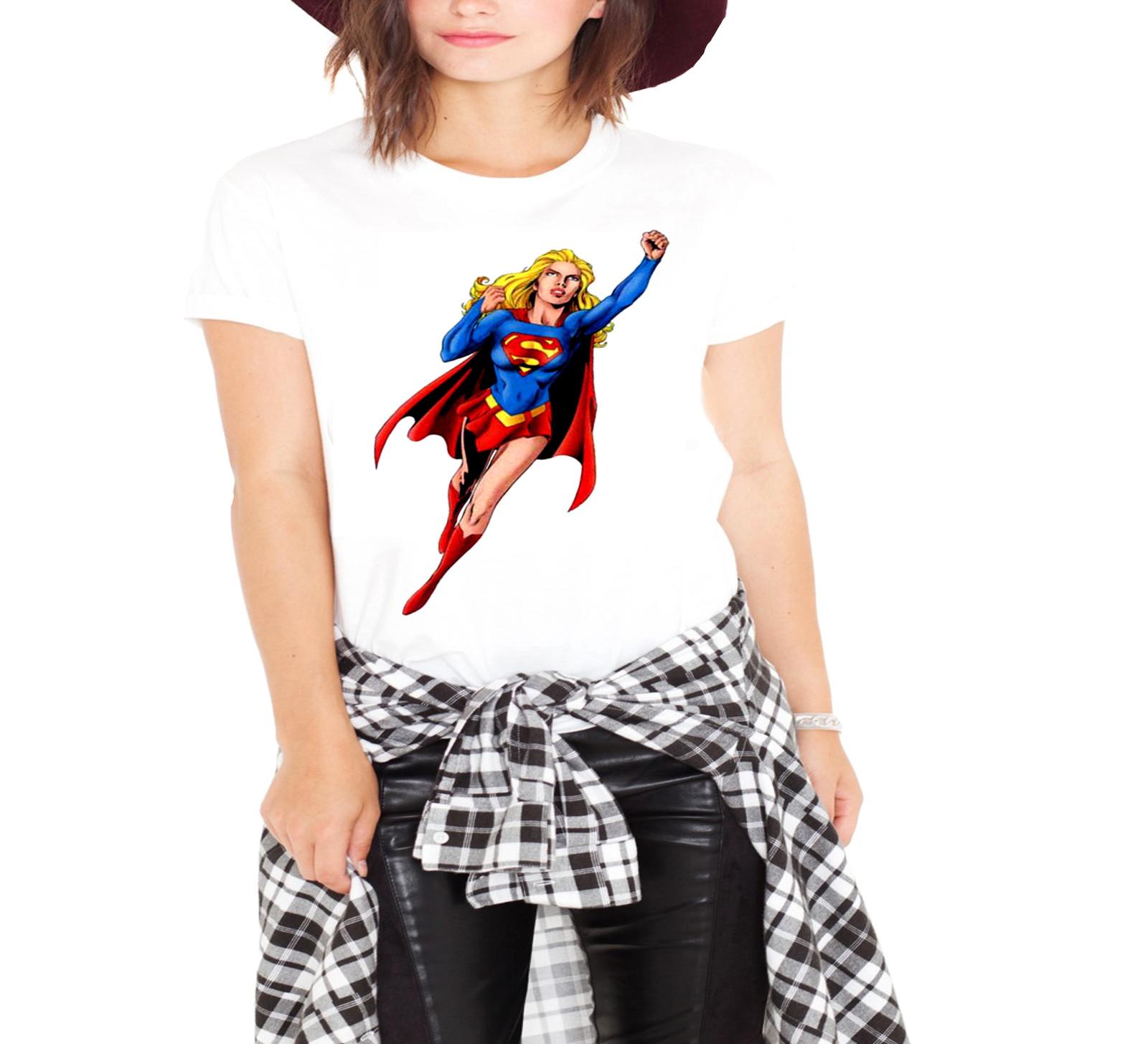 Superwoman white t3