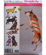 Simplicity 1578 Hunting Safety Outdoor Large Dog Coats Vests Clothing Pa... - $12.99