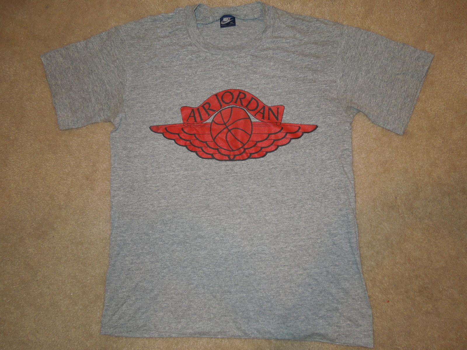 e44c8939fe4a69 Dscn3441. Dscn3441. Previous. Vintage Retro 80 s Blue Tag Air Jordan Nike T- Shirt Size XL. Vintage Retro 80 s ...