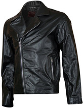 Ghost Rider Biker Nicolas Cage Leather Jacket | LJM - $199.99