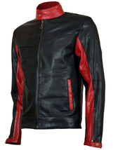 Christian Bale Batman Leather Jacket | LJM - $199.99