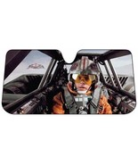 Star Wars Snow Speeder Luke Car Auto Windshield Sun Shade Sunshade Screen - $24.95